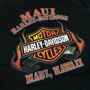 Harley-Davidson Shirts - Harley Davidson Maui Hawaii T-Shirt.